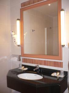 A bathroom at Domaine des Roches