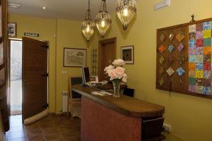 El vestíbulo o zona de recepción de Hotel Rural Reciegos Complejo Agroturistico