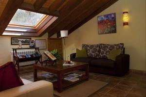 Zona de estar de Hotel Rural Reciegos Complejo Agroturistico