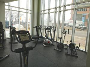 The fitness center and/or fitness facilities at The Oakes Hotel Overlooking the Falls