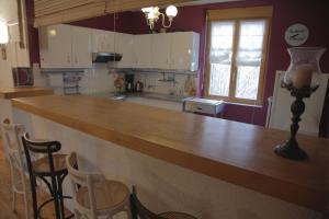 A kitchen or kitchenette at Le Square