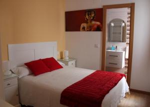 Cama o camas de una habitación en CH Galaica