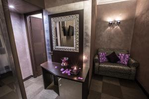 חדר רחצה ב-Hotel Romano