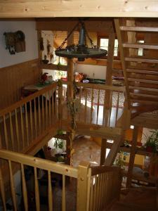 Lounge oder Bar in der Unterkunft Familienferienhof Sell´s Scheune