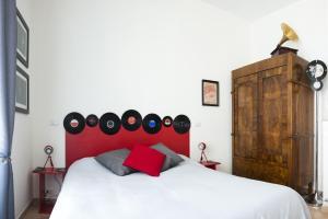 Letto o letti in una camera di Grammy Suite