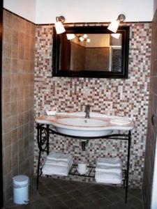 A bathroom at Hotel Dei Templi