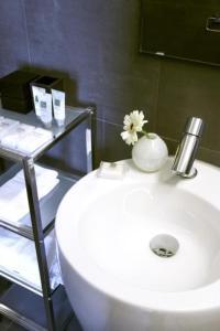 A bathroom at Residenz Stadslogement