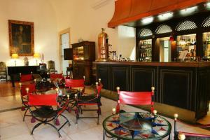 El salón o zona de bar de Pousada Castelo de Estremoz