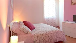 Letto o letti in una camera di Dimora nel borgo