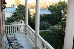 A balcony or terrace at Wentworth Mansion