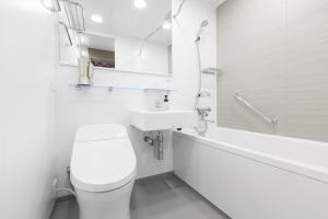 A bathroom at Tokyu Stay Shinjuku