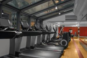The fitness center and/or fitness facilities at The Manhattan at Times Square