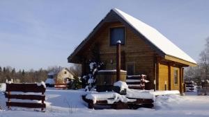 Atpūtas komplekss Burtakas during the winter
