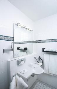 Ein Badezimmer in der Unterkunft Seeresidenz Alte Post