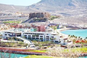 A bird's-eye view of Costa Baja Resort & Spa