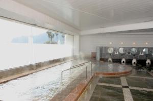 The swimming pool at or close to Atami Seaside Spa & Resort