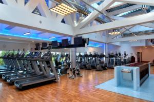 Centrum fitness w obiekcie Hilton Warsaw City Hotel