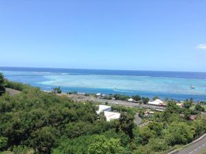 Uma vista aérea de Residence Tahiri Appartement vue mer