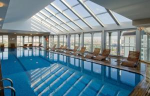 The swimming pool at or near WOW Istanbul Hotel