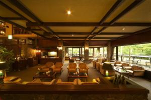 A restaurant or other place to eat at Hodakaso Yamano Hotel