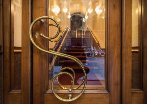 O lounge ou bar de Strozzi Palace Hotel