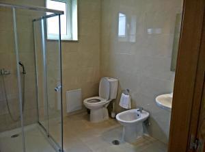 Uma casa de banho em Agroturismo A Fidalga
