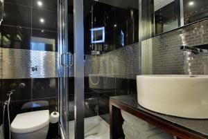 A bathroom at The Marble Arch London