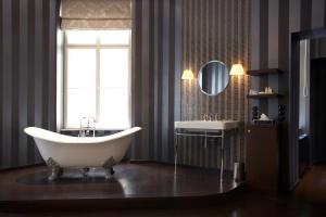 A bathroom at Small Luxury Hotel Altstadt Vienna
