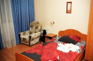 Гостиная зона в Апартаменты Уютный Дом