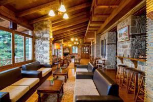 Ο χώρος του lounge ή του μπαρ στο Ξενοδοχείο Πηγή Ταρλαμπά