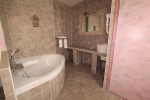 Salle de bains dans l'établissement Hotel Le 5