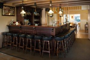 Lounge oder Bar in der Unterkunft Hotel Bos en Duinzicht