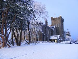 Kilronan Castle Hotel & Spa during the winter