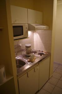 A kitchen or kitchenette at Résidence Les Cordeliers