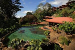 Vista de la piscina de Peace Lodge o alrededores