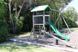 Children's play area at Motel Warrnambool