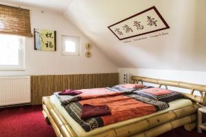 Ein Bett oder Betten in einem Zimmer der Unterkunft Casa Casimir