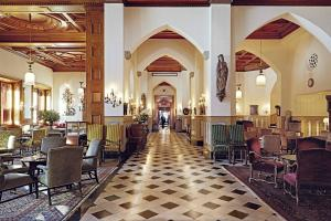 A restaurant or other place to eat at Badrutt's Palace Hotel St Moritz