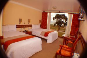A room at Taypikala Lago