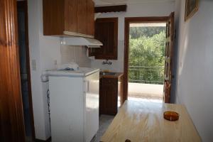 Küche/Küchenzeile in der Unterkunft Elena - Kostas