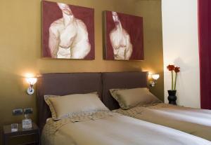 Letto o letti in una camera di Eh13 Luxury Accommodation