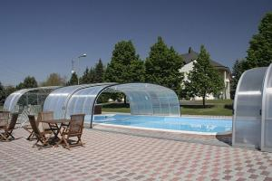 The swimming pool at or near Hotel Ovit