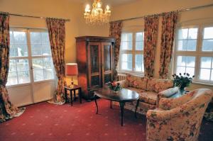 Część wypoczynkowa w obiekcie Podewils Castle Hotel