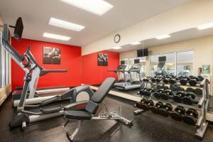 The fitness center and/or fitness facilities at Country Inn & Suites by Radisson, Bountiful, UT