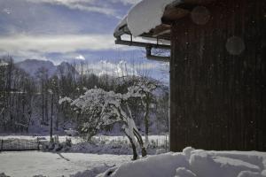 Obiekt Chata Apart zimą