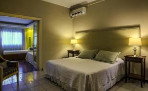 Una cama o camas en una habitación de Bed And Breakfast Plaza Italia