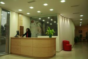 The lobby or reception area at Noriega