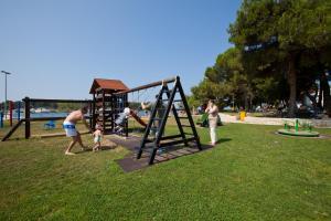 Children's play area at Apartments Galijot Plava Laguna