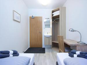 A room at KEF Guesthouse by Keflavík airport