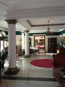 Hol lub recepcja w obiekcie Pałac Zdrojowy